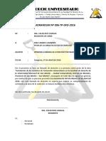 Memorandum 006 Diaz Linares Lizandro