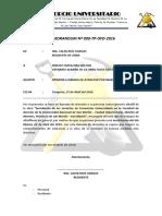 Memorandum-009-Pinedo Tapullima Wilton