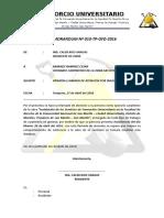 Memorandum 010 Ramirez Ramirez Cesar