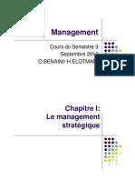 Cours Management Strategique