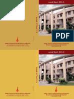 ICSSR Annual Report2015 16