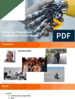 Preparación Certificación Scrum Master