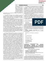 Confirman resolución que declaró improcedente solicitud de inscripción de la lista de candidatos para el Concejo Distrital de Hualmay provincia de Huaura departamento de Lima