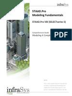 STAAD.pro v8i Modeling Guide