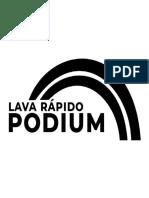 Logomarca Podium Lavarapido