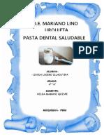 Pasta Dental Casero MARIANO LINO