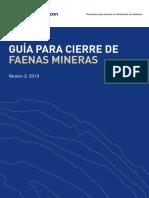 Guia Cierre FAenas Mineras Angloamerican