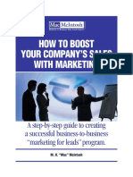 How to Boost Your Company Sales With Marketing