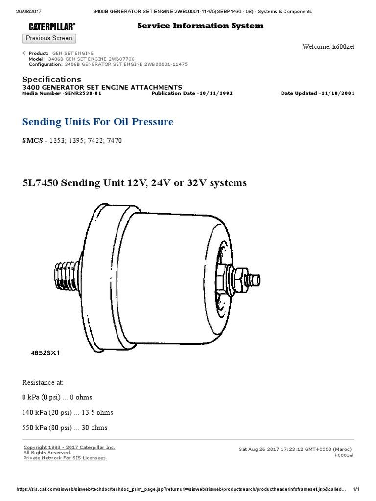 3406B GENERATOR SET ENGINE 2WB00001-11475(SEBP1436 - 08) - Systems &  Components.pdf