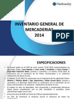Capacitación Inventario General
