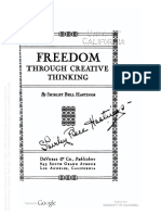 Freedom Through Creative Thinking_Part1