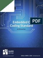 Barr c Coding Standard 2018