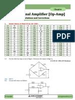 Op-Amp - Part - 1 Answer + Correction + Sol.pdf