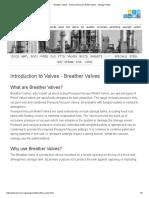 Breather Valves - Pressure_Vacuum Relief Valves