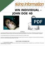 John Doe 40 Poster