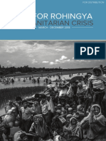 Jrp for Rohingya Humanitarian Crisis - For Distribution