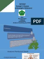PPT BUERGER DISEASE (Tromboangitis Obliterans) / Penyakit Winiwarter