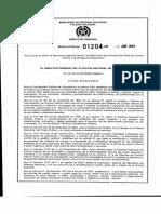Estructura Organica Arcoi Res 01204 Del 04 04 13