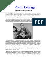 Mil Hist - Profile in Courage _ Risner