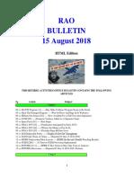 Bulletin 180815 (HTML Edition)