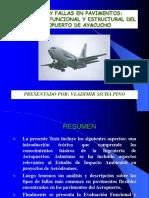 CAUSAS Y FALLAS EN PAVIMENTOS EVALUACION FUNCIONAL Y ESTRUCTURAL DEL AEROPUERTO DE AYACUCHO