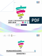 Plan General Campo Disciplinar Humanidades