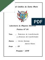 Informe N° 04