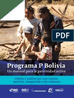 Programa P Bolivia Manual Para La Paternidad Activa