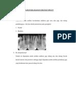 Pemeriksaan Radiologi Pada Bagian Gigi Dan Mulut (2)