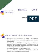 Derecho Procesal, Los Jueces.