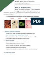 REVISÃO DA MICROBIOLOGIA