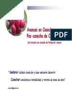 Avances Cosecha y Poscosecha Mirada Con Corazòn de Productor-Asesor 2011