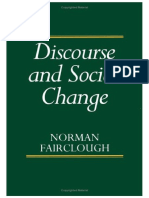 FAIRCLOUGH, N. - Discourse and Social Change.pdf