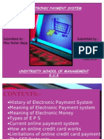 Elecronic Payment System2