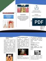 triptico odontologia