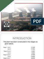 report on thermal power plant,Mechantronics Engineering