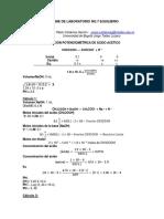 Informe de Laboratorio 7(Equilibrio)