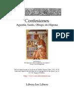 Agustin de Hipona, Confesiones.doc