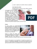 Enfermedad Pulmonar Obstructiva Crónica Investigacion