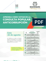 Votacion anticorrupcion