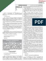 Emiten Disposiciones Para Garantizar El Cumplimiento de La l Decreto Supremo n 005 2018 Tr 1647265 1