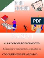 2. Organizacion Archivos de Gestion
