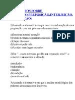 ADVÉRBIO,PREP,INTERJ,CONJ-EXERCÍCIOS .doc