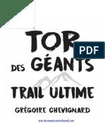 TOR des géants trail ultime