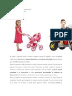 Sexismo y Juguetes Infantiles
