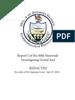 PA Grand Jury Report