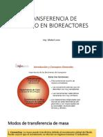 Transferencia de Oxigeno en Bioreactores