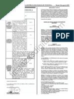Gaceta Oficial 41460 Normas Proceso Reconversion Monetaria