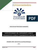 Especificidades Del Expediente Clinico