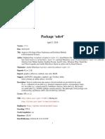 Manual Ade4